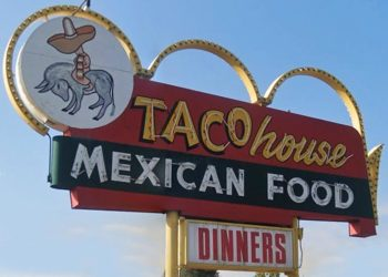 Taco House Sign